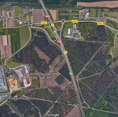 À la recherche de Saint-Martin de Maresdans (entre Criquebeuf-sur-Seine et Pont-de-l'Arche)