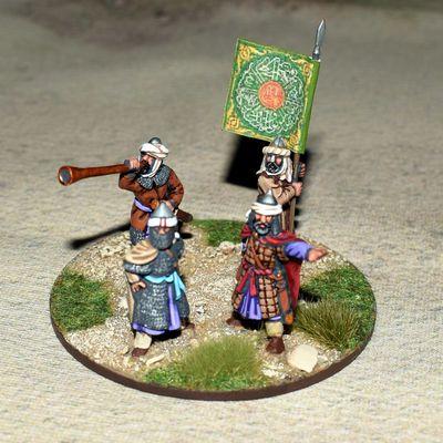 Les généraux de l'armée Arabe.