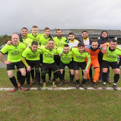 L'équipe de la Jeunesse Sportive de Fraire 2018-2019.