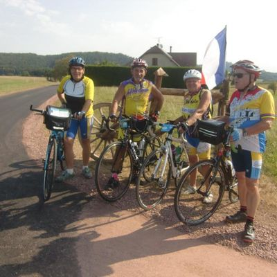 Arlette, Raymond, Martine et Jean-Claude dans Les Vosges
