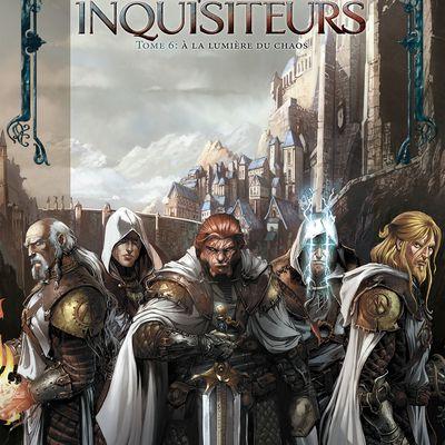 Maîtres inquisiteurs 06 - À la lumière du chaos
