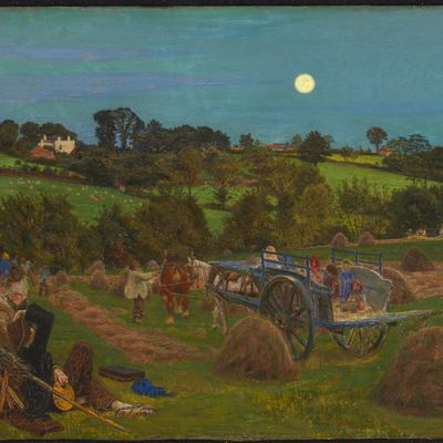 Ford Madox Brown, The Hayfeild, 1855-1856
