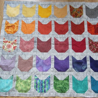 Patchwork Chats finis