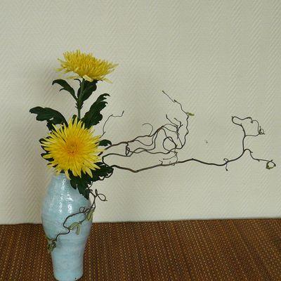 Hana Isho de base dans un vase haut Nov 17