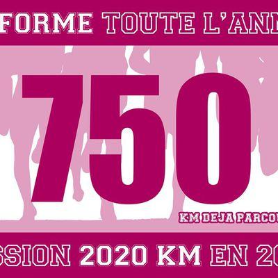 course à pied  entrainement 2020