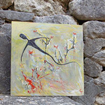2 - Tunisie photos fidèle lecteur. Art de la toile... Art pictural de Chantal Turpain.. Mouvement, regard, espace....