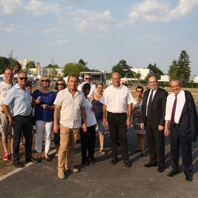Inauguration du nouveau Parc Fenez