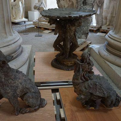 Les fontaines et La Fontaine