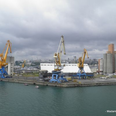 Le Port de Commerce de Brest