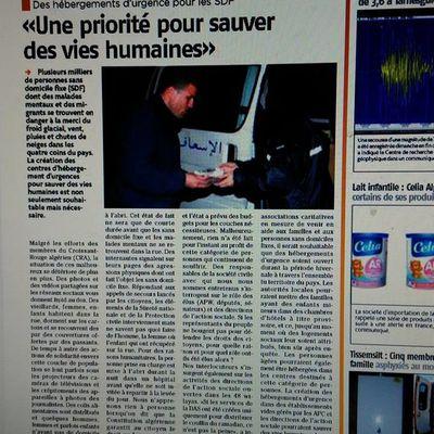 Des hébergements d'urgences pour les SDF en Algérie:    «Une priorité pour sauver des vies humaines»