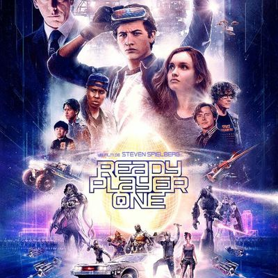 Ready Player One, l'affiche années 80