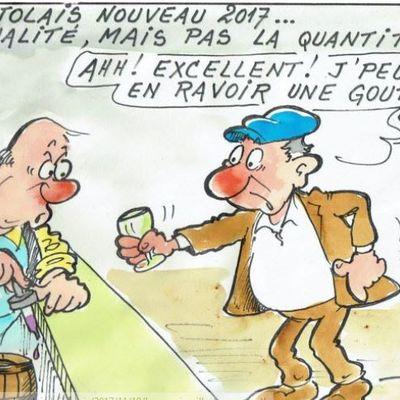 Le beaujolais nouveaux est arrivé