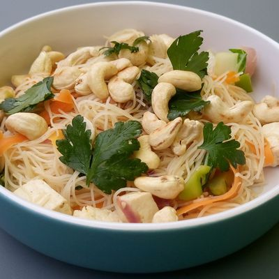 Vegetable noodle stir fry