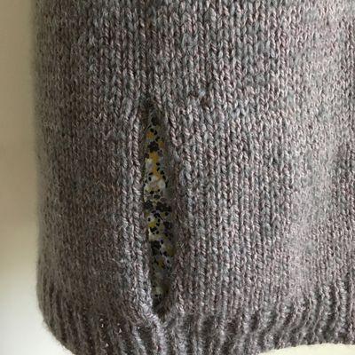 Tuto : faire une poche dans un ouvrage en laine ( mais pas qu'avec de la laine )