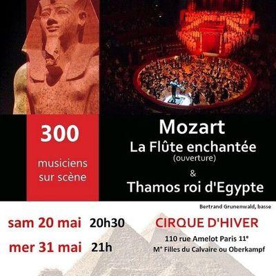 Mozart au Cirque d'Hiver