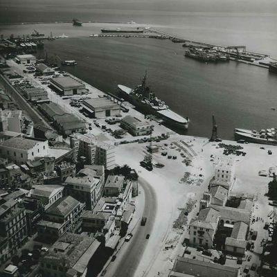Quai...Le Port d'Annaba lors du débarquement des américains en 1940 (1)