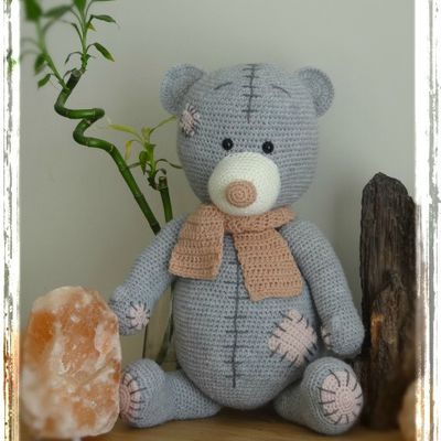 """From Me to You"" teddy bear - LLouise Kristensen"