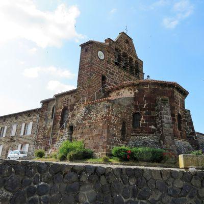 L'Église Saint-Martin d'Alleyras / Balade en Haute-Loire