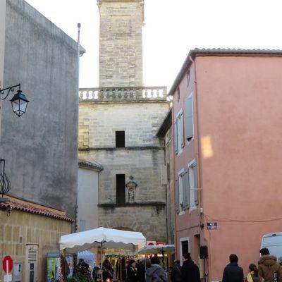 Marché de noël en Provence / Balade dans le village de Lambesc