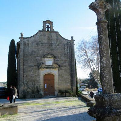 La Chapelle Saint-Denis et autres édifices religieux/ Balade dans le village de Rognes (Bouches-du-Rhône)