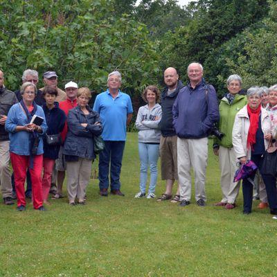 Visite du Jardin de Loic Madec à Prat Ar Coum à Lannilis
