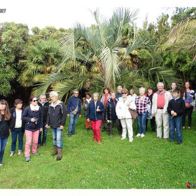 La SHBL visite le Jardin Exotique  et un jardin de légumes, fruits et autres plantes comestibles à Saint-Renan