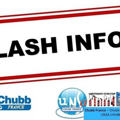 Flash Info du CE Chubb France du mois d'octobre 2017