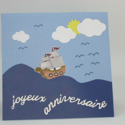 BATEAU PIRATE POP'UP