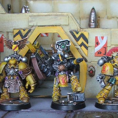 Space Crusade - Les derniers Imperial Fists