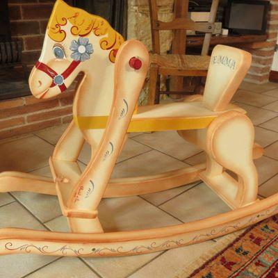 Mes Chevaux à Bascule ( Rocking Horse )