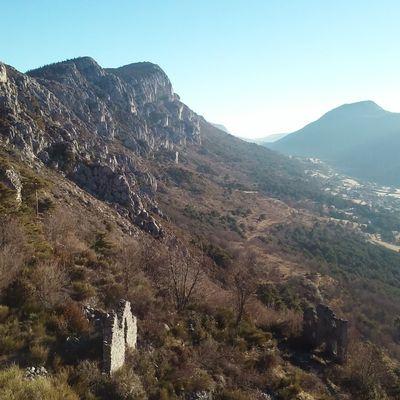 Bauroux (1 644m) et Vieux Séranon