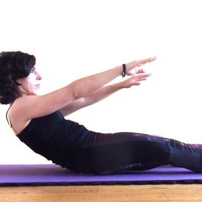 Exercice Pilates - Le Roll Up