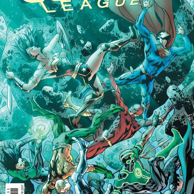 Mon Impression : Justice League Rebirth  #8