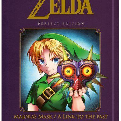 Legend of Zelda - Majora's Mask / A link to the past - Perfect edition « Zelda et Link dans une belle édition! »