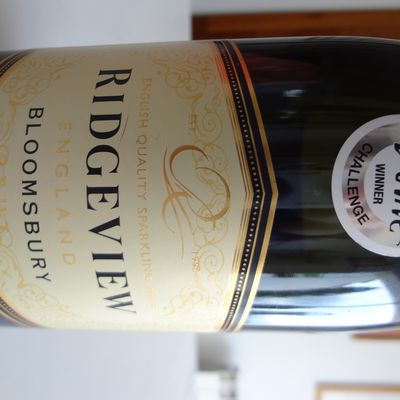 Angleterre - English Quality Sparkling Wine  - brut - Bloomsbury - 2014 - Ridgeview wine.