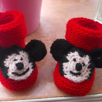 Chaussons Mickey