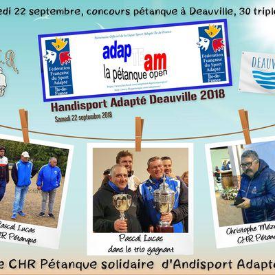 Handisport Adapté Deauville 2018