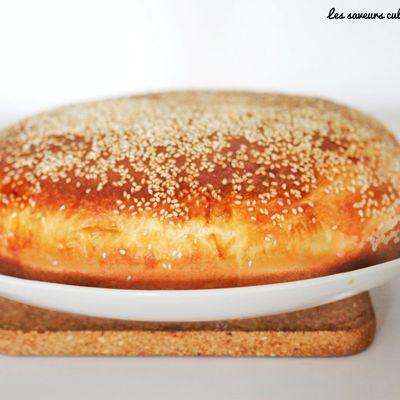 Pain maison brioché de Nas'cake