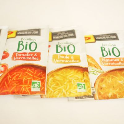 Les potages bio de Maggi France