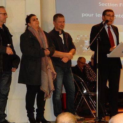 le BADMINTON du COPF a l'honneur lors des voeux de La Mairie de PLEINE-FOUGERES 2018