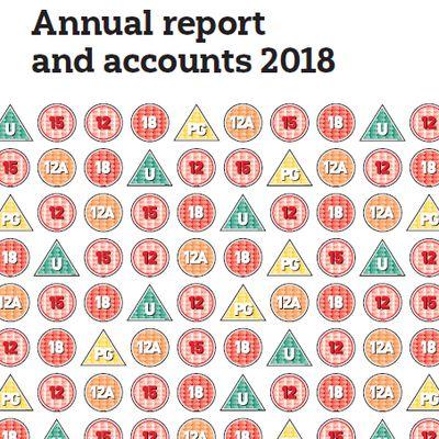 Mise en ligne du rapport d'activité 2018 du British Board of Film Classification