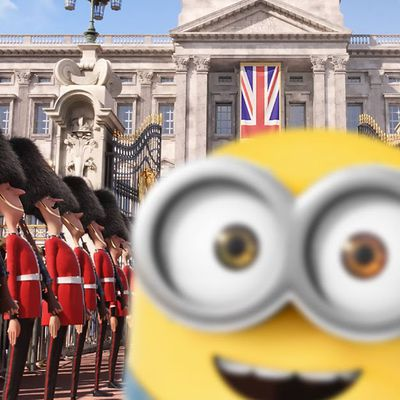Where are The MINIONS in LONDON?!