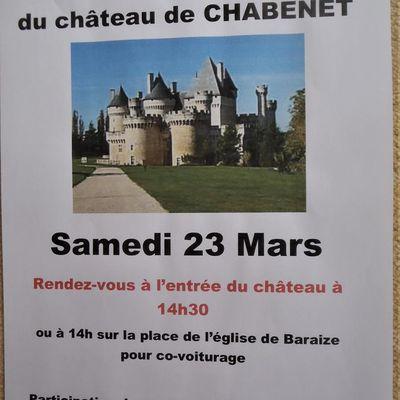Visite de Chabenet