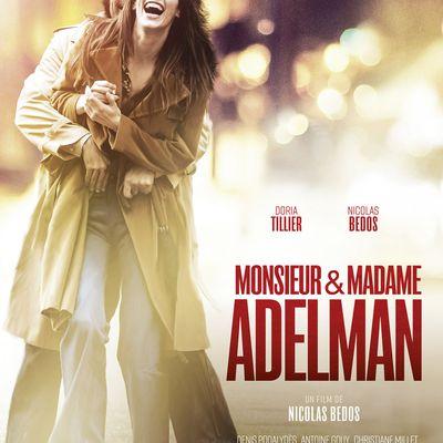 MAKING-OF : Monsieur & Madame Adelman, un couple au cinéma le 8 mars 2017 !