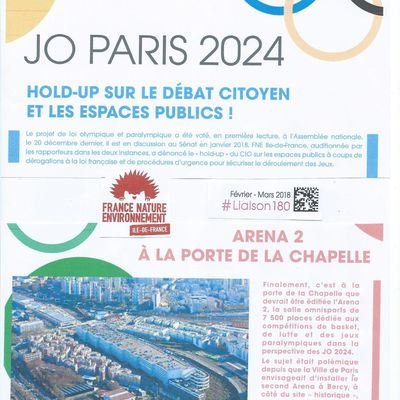 JO 2024 : vigilance sur les dérogations aux codes de l'urbanisme et de l'environnement !