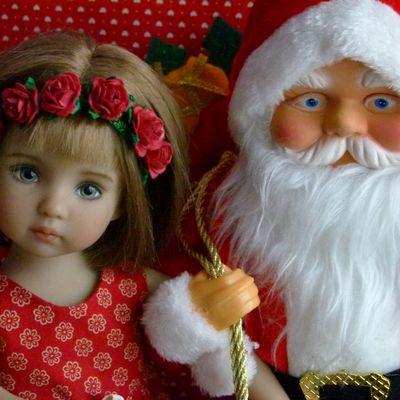 Noël de poupées - Christmas and dolls