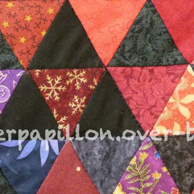 Scrap quilt : triangles