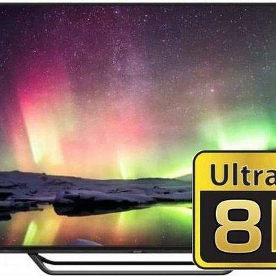 La compagnie Sharp lance le Sharp LV-70X500E, le premier téléviseur 8K au monde.