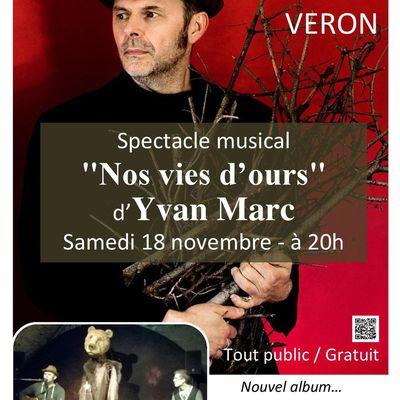 Concert à la Médiathèque samedi 18 novembre à 20h