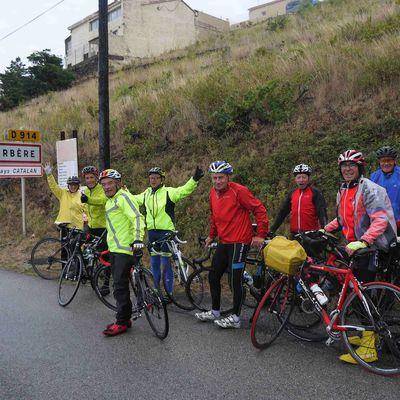 Traversée des Pyrénées à vélo, 9 Septembre, Prades – Cerbère